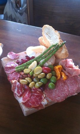 Postino Winebar: Butcher's Block