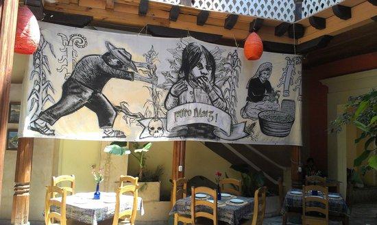 La Casa del Pan:                   Mural