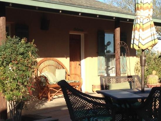 Rancho Sonora Inn:                   our room
