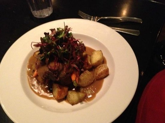 The Abbey:                   Ribeye fingerling potatoes