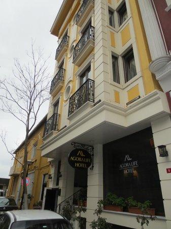 Agora Life Hotel: Street View