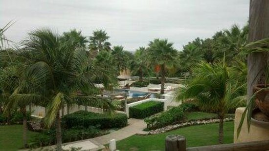 The St. Regis Punta Mita Resort:                   View from our Deluxe Room