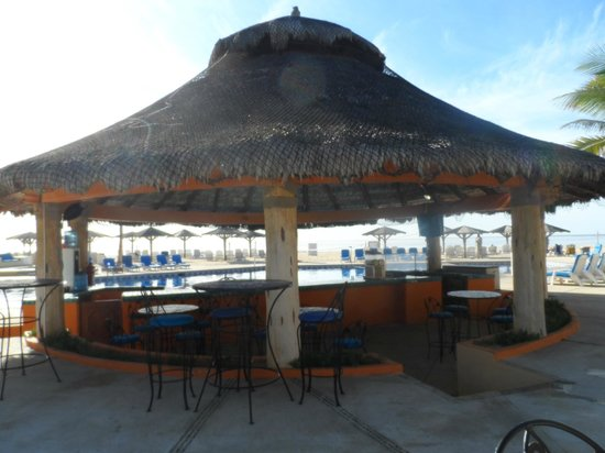 Posada Real Los Cabos:                   Posada's pool bar; swim up or sit down!