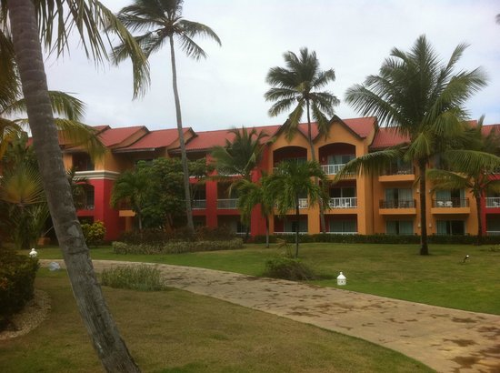 Punta Cana Princess All Suites Resort & Spa:                                     3 stories blocks