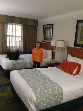 La Quinta Inn Pensacola: two queen standard room