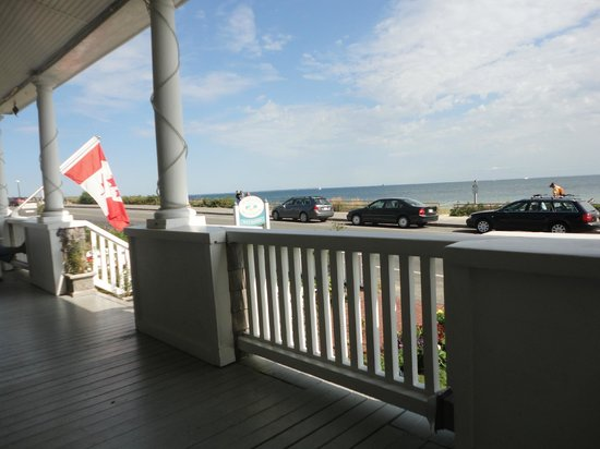 Isabelle's Beach House:                   The Porch View!
