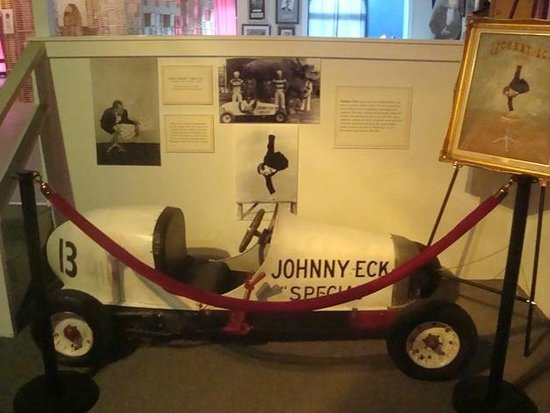 Zanadu's Museum of Curiosities:                   Johnny Eck - The Half Boy's Car!