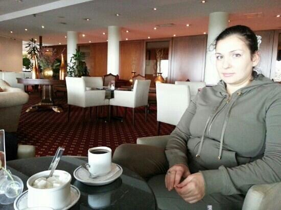 Kalyon Hotel Istanbul: cafe