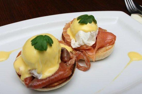 The Castle Hotel: Eggs Royal - Breakfast Menu