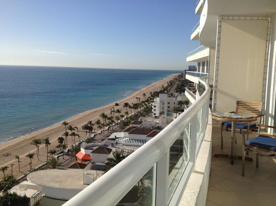 The Ritz-Carlton, Fort Lauderdale:                   View from the patio.