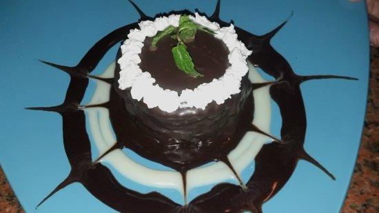 Pomodoro:                   A delicious chocolate something with a ganache...YUM                 