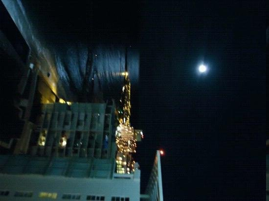 Hotel Riu Cancun:                   lua cheia