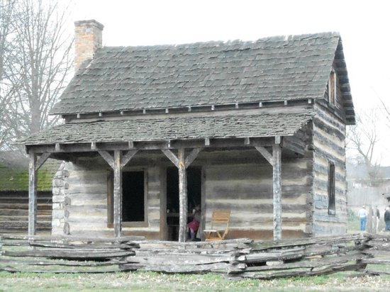 Tipton Haynes Historic Site: The Cabin