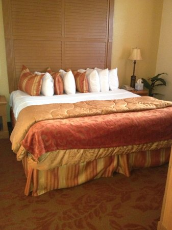 Floridays Resort Orlando:                   Master bedroom