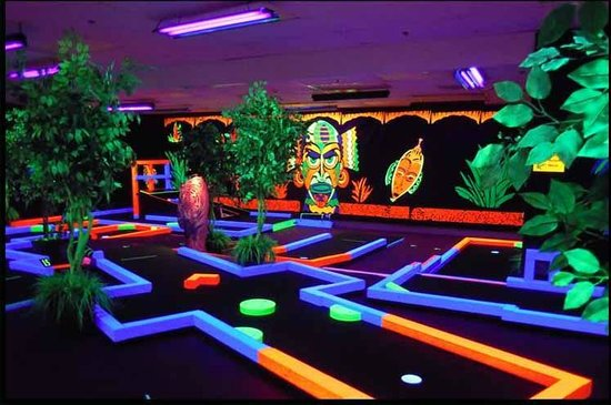 Glow Putt Mini Golf Kaneohe Reviews Of Glow Putt Mini