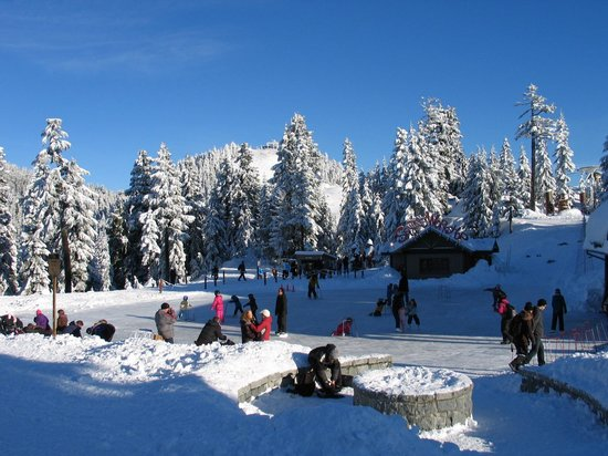 Grouse Mountain skating rink
