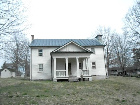 Tipton-Haynes Historic Site :                   The home