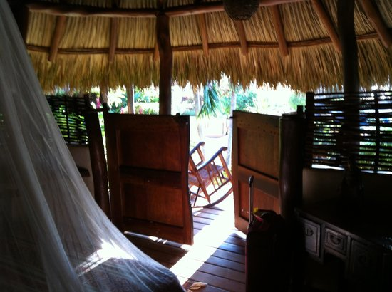 Present Moment Retreat:                                                                         Inside my bungalow