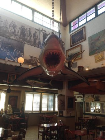 Crab Cooker Restaurant: Jaws