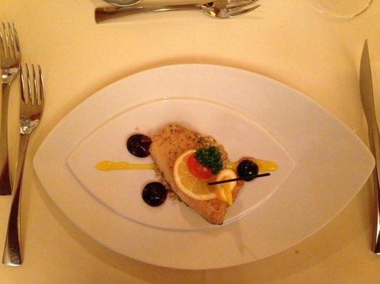Spa Hotel Zedern Klang : Zwischengericht