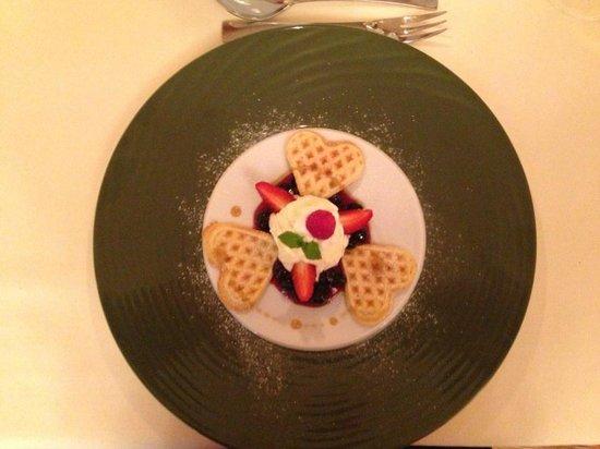 Spa Hotel Zedern Klang : Dessert