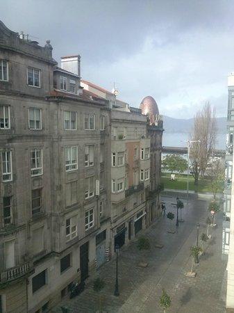 Hotel America Vigo:                   Vista a la Ría desde la habitación