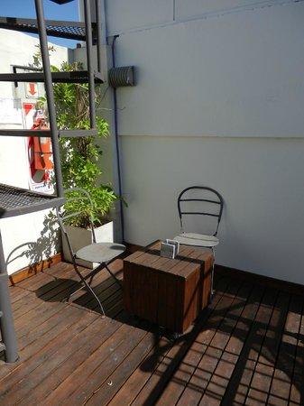 Bonito Buenos Aires, San Telmo:                   Your own terrace