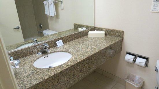 Portofino Inn San Diego Hotel Circle:                   Nice bathroom