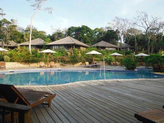 Media Luna Resort & Spa :                                     la piscine