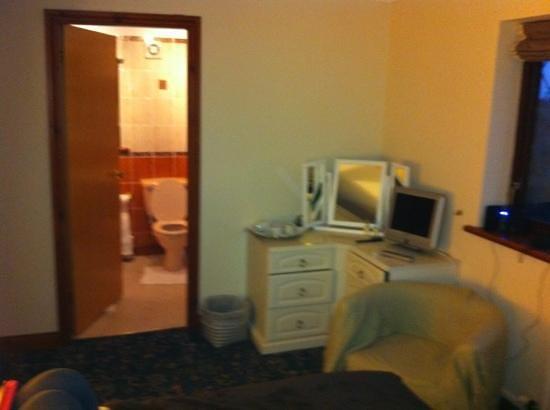The Gables:                   very comfy clean room & en suite.