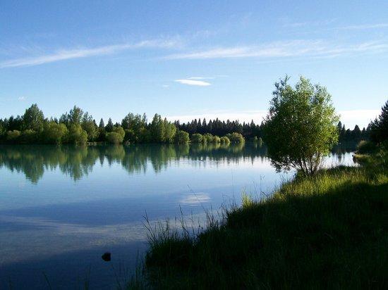 Pinegrove Cottage: Lake Ruataniwha Lagoon