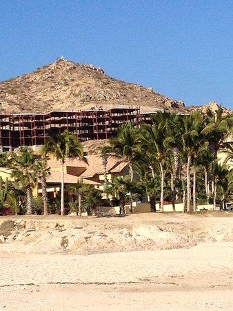 Grand Fiesta Americana Los Cabos All Inclusive Golf & Spa: Resort from beach