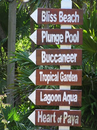 Paya Bay Resort: Walking trails abound!