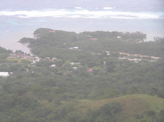 Paya Bay Resort from atop Mt. Picacho