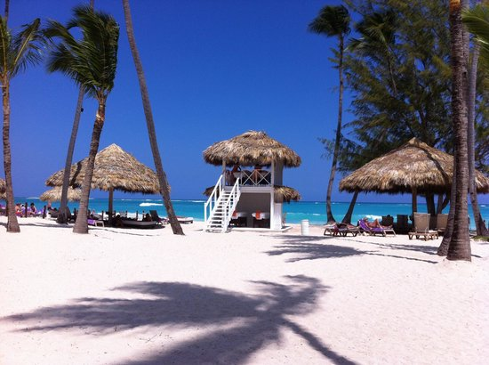 Paradisus Punta Cana:                   The beach