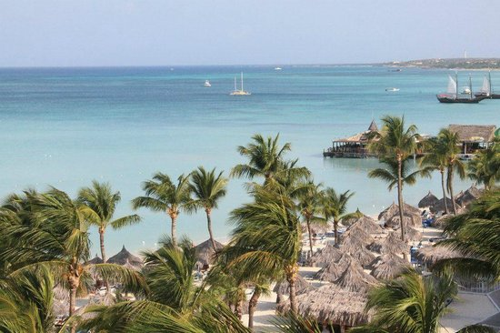 Hyatt Regency Aruba Resort and Casino:                   view from room