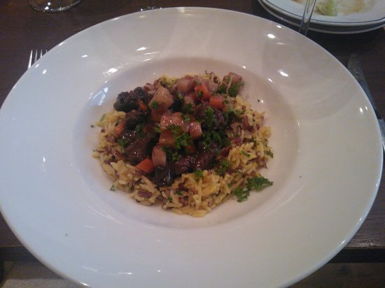 Kolo Restaurant: Deer risotto