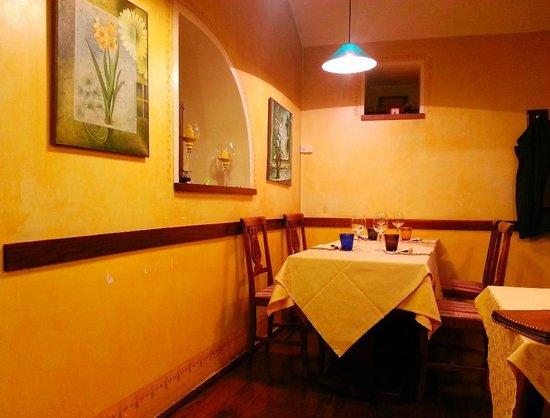 Osteria La Vecchia Posta: Interno del ristorante (sala più interna)