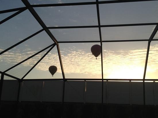 Windsor Palms Resort : Morgen-udsigt fra huset(2267) terrasse