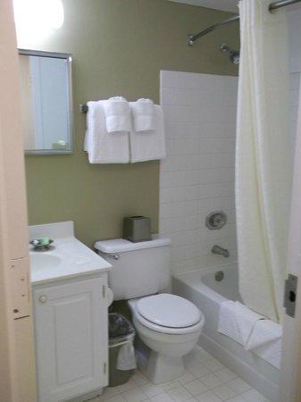 Oakwood Apartments Arlington :                   Bathroom
