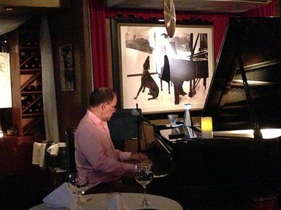 Carli's Fine Bistro & Piano:                   Carli at the piano
