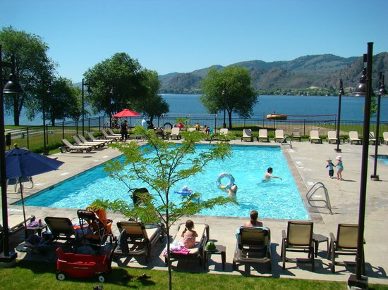 Oroville, WA: Pool at Veranda Beach
