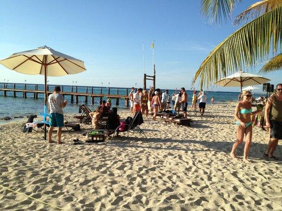 Secrets Aura Cozumel Beach Party