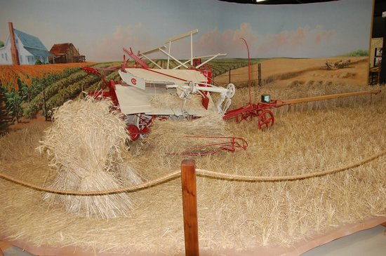 Bayer Museum of Agriculture:                   Grain Binder Display