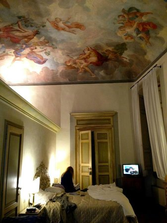 Hotel Burchianti:                   Our room