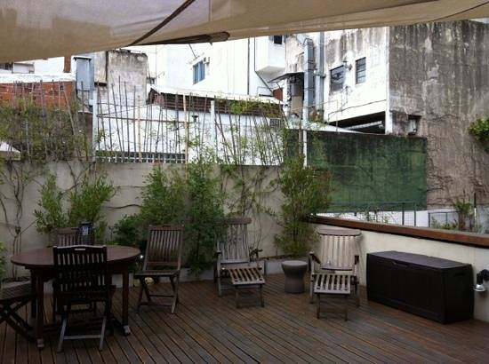 Vain Boutique Hotel:                   roof garden
