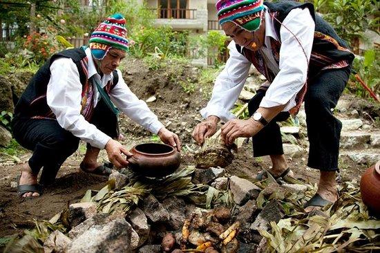 SUMAQ Machu Picchu Hotel: Pachamanca