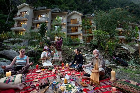 SUMAQ Machu Picchu Hotel: Pay to the Earth