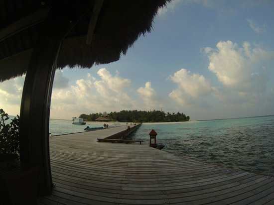 Angsana Ihuru, Maldives:                   View of Banyan Tree