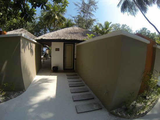 Angsana Ihuru:                   our beach villa